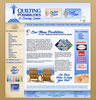 Website Design: Quilting Possibilities